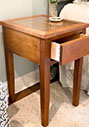 Night stand with dovetail drawers